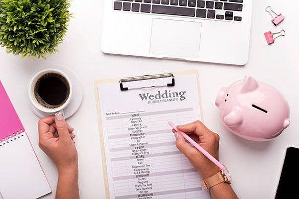 Esküvői költségek: költségvetés készítése
